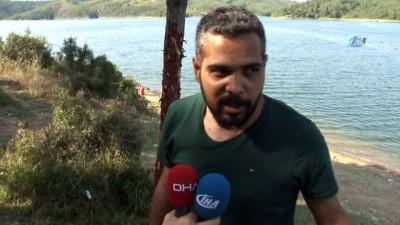 Alibeyköy barajında bir kişi boğularak can verdi