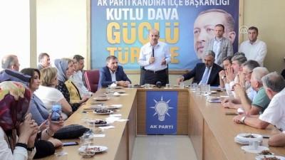 Başbakan Yardımcısı Işık'tan teşekkür ziyareti - KOCAELİ