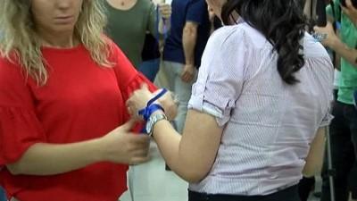 hassasiyet -  Çocuk istismarına 'Mavi Kurdeleli' tepki