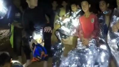 - Mağarada Mahsur Kalan Çocuklara Temel Dalma Dersi Verilmeye Başlandı
