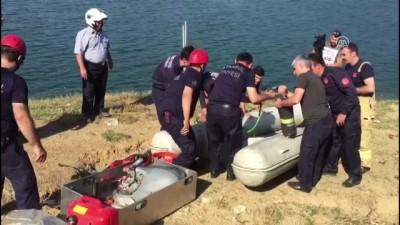 Serinlemek için göle giren genç boğuldu - İSTANBUL
