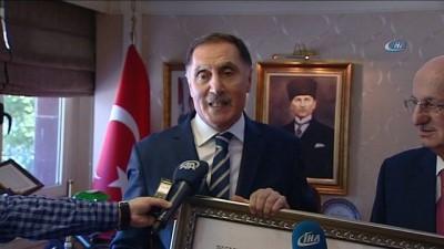 TBMM Başkanı Kahraman, Şeref Malkoç'u ziyaret etti