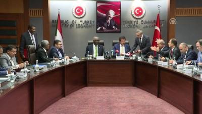 Türkiye-Sudan arasında serbest ticaret anlaşması - ANKARA