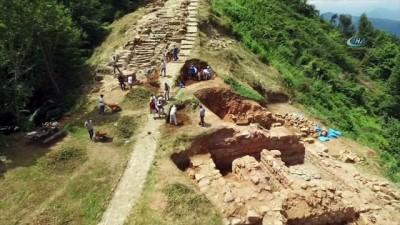 arkeolojik kazi -  2300 yıllık tarihi Kurul Kalesi'nde kazılar yeniden başlıyor