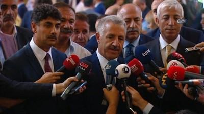 Bakan Arslan:'Sayın Cumhurbaşkanımız ve kuracakları hükümet, bugünden sonra yürütme tarafında tek başlılık çerçevesinde çok daha hızlı, seri hareket edebilecek ve uygulamaları yapabilecek'