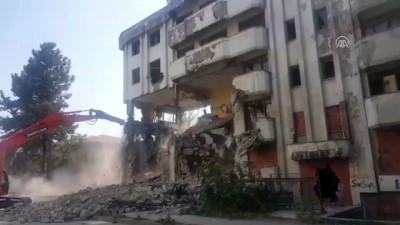 Bina yıkımı - DÜZCE