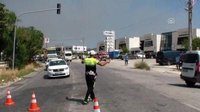 Bodrum'da otluk ve makilik alanda yangın (2) - MUĞLA