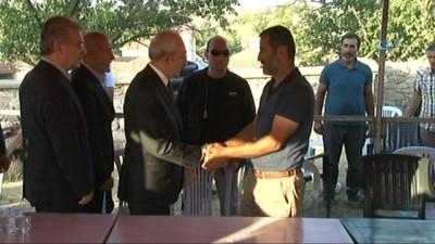 Kılıçdaroğlu, acımasızca katledilen Eylül'ün ailesine taziye ziyaretinde bulundu