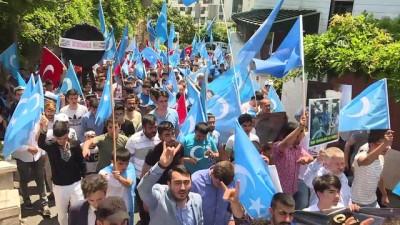 Urumçi Katliamı, 9. yılında protesto edildi - İSTANBUL