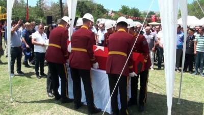 Yaşamını yitiren karakol komutanı son yolculuğuna uğurlandı - ANKARA
