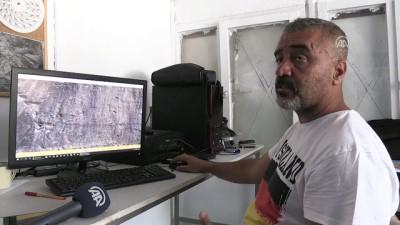 Cilo'da merak uyandıran kaya resimleri (2) - HAKKARİ