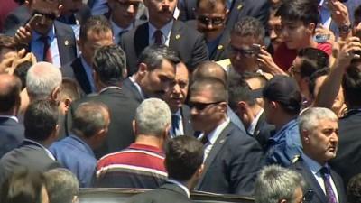 makam araci -  Cumhurbaşkanı Erdoğan'a vatandaşlardan yoğun ilgi