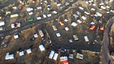 sivil savunma - Dera'dan göç edenlerin sayısı 350 bini aştı - DERA