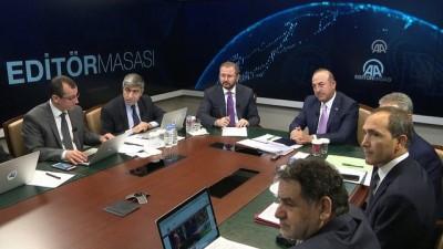 Dışişleri Bakanı Çavuşoğlu: 'Yabancı düşmanlığı, göçmen düşmanlığı, ırkçılık, İslam düşmanlığı nereye götürüyor Avrupa'yı' - ANKARA