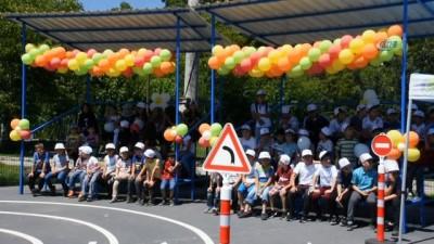 Dursunbey Belediyesi Trafik Eğitim Pisti Açıldı