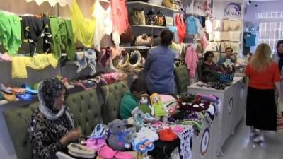 El Emeği Çarşısı'na yoğun ilgi... 8 ayda 10 bin kişi ziyaret etti