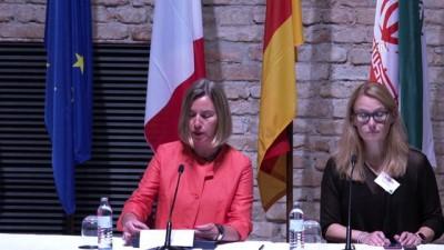 İran Nükleer Anlaşması'nın geleceği görüşmeleri - Mogherini - VİYANA