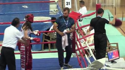 Kick boksa kadınların ilgisi artıyor - ELAZIĞ
