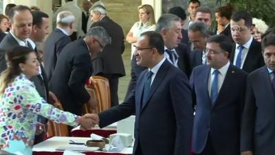 Milletvekilleri kayıt yaptırıyor - Bekir Bozdağ ve Mehdi Eker - TBMM