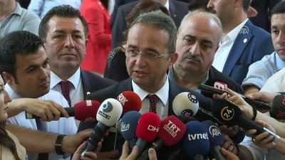 cumhurbaskanligi - Milletvekilleri kayıt yaptırıyor - CHP Genel Başkan Yardımcısı Bülent Tezcan - TBMM