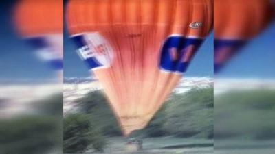 Pamukkale'den havalanan balon sanayiye indi