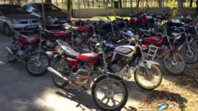 Şanlıurfa'da 4 günde 233 çalıntı motosiklet ele geçirildi