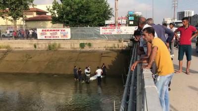 sulama kanali - Adana'da sulama kanalına giren kişi boğuldu