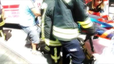 Denizli'de kavşakta can pazarı: 9 yaralı