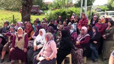 Maden ocağındaki göçükte hayatını kaybeden Erkan Çonkur'un cenazesi toprağa verildi - BARTIN