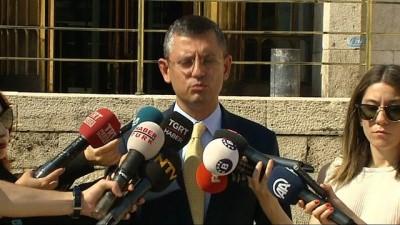 Özgür Özel: 'Meclis başkan adayımız çarşamba günü belirlenecek'
