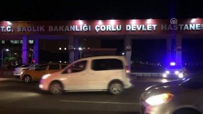Tren kazası - Çorlu Devlet Hastanesi - TEKİRDAĞ