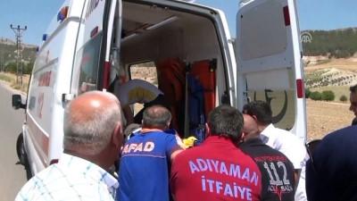 Adıyaman'da yolcu minibüsü devrildi: 1 ölü, 1 yaralı