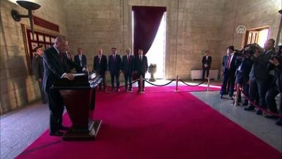 cumhurbaskanligi - Cumhurbaşkanı Erdoğan, Anıtkabir'i ziyaret etti (3) - ANKARA