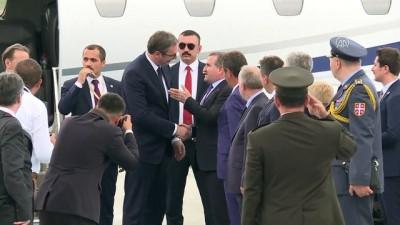 'Cumhurbaşkanlığı Göreve Başlama Töreni' - Ondimba, Vucic ve Al-Ghanim - ANKARA
