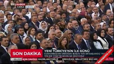 Erdoğan: 95 yıllık cumhuriyetimizi şahlandırma sözü veriyoruz