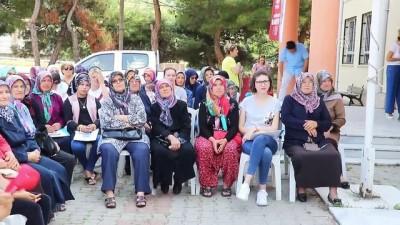 Merkeze uzakta yaşayan kadınlara ilk yardım eğitimi - TEKİRDAĞ