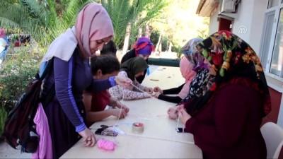 Anneler kızlarıyla kamp yaptı - OSMANİYE