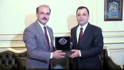 AYM Başkanı Arslan'dan Yozgat Valiliğine ziyaret - YOZGAT