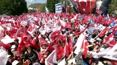 Cumhurbaşkanı Erdoğan: 'Bayburt, yüzde 82,1 oy oranındaki destekle yine ilk sırada yer aldı' - BAYBURT