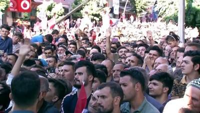 Cumhurbaşkanı Erdoğan: ''Hiç kimsenin bizi hedeflerimizden alıkoymasına, hedeflerimizle aramıza girmesine izin vermeyeceğiz'' - GÜMÜŞHANE