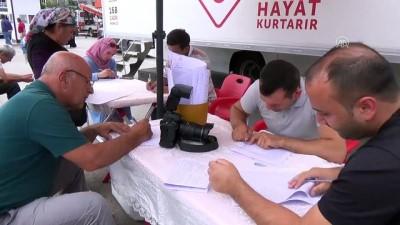 Kahramankazan'da kan bağışı kampanyası - ANKARA
