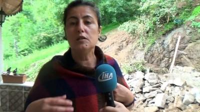 Ordu'da selin 3. günü...Sel felaketinin ortasında kalan mahalleli yaşadıkları korku dolu anları anlattı