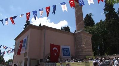 Restorasyonu tamamlanan Fethi Ahmet Paşa Camii ibadete açıldı