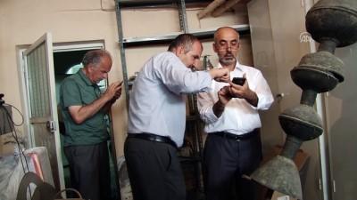 Siirt'teki Ulu Cami'ye ait 750 yıllık alem müzede sergilenecek