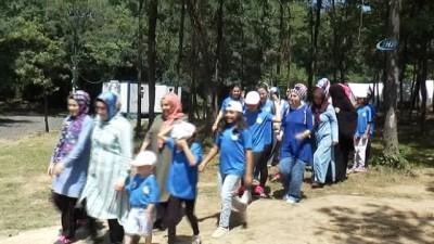 Arnavutköy Belediyesi, anne ve kızları için kamp düzenledi