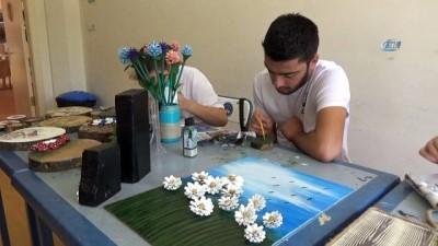Bolu'da zihinsel engelli gençler iş hayatına hazırlanıyor