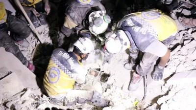 rejim karsiti - İdlib gerginliği azaltma bölgesine hava saldırıları