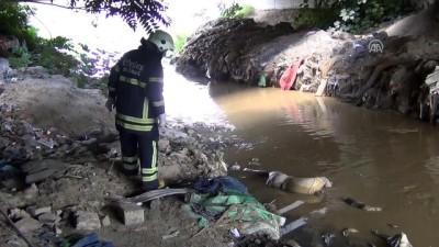 Kumluca Deresi'nde erkek cesedi bulundu - TEKİRDAĞ