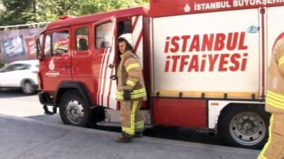 Seyir halindeki özel halk otobüsünde korkutan yangın