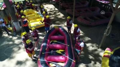 Yaz yağmurları raftingcilere yaradı - DÜZCE